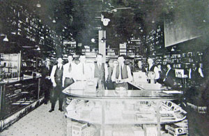 Bond Pharmacy interior