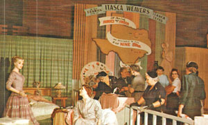 Itasca Weavers exhibit at the Texas State Fair
