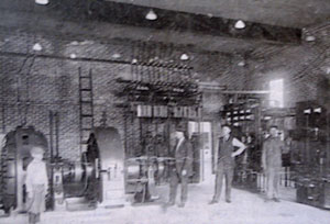 Texas Electric Railway Interurban shop and generating plant