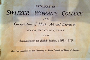 Switzer College Catalogue