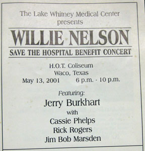 Whitney Medical Center fundraiser
